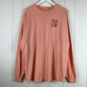Walt Disney World T Shirt XL Glitter Long Sleeves